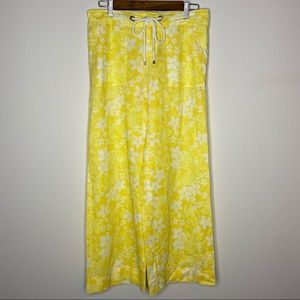 Lilly Pulitzer Yellow~White Palm Beach Fit Pants